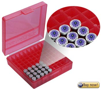 MTM 380/9MM Cal 100 Round Flip-Top Ammo Boxes