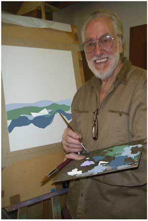 Kenneth Howard Weston, elephant sculptor and fine artist