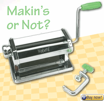 Makin's Polymer Clay Pasta Machine with clamp
