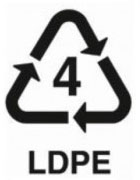 4 LDPE - polymer safe plastic recycling number