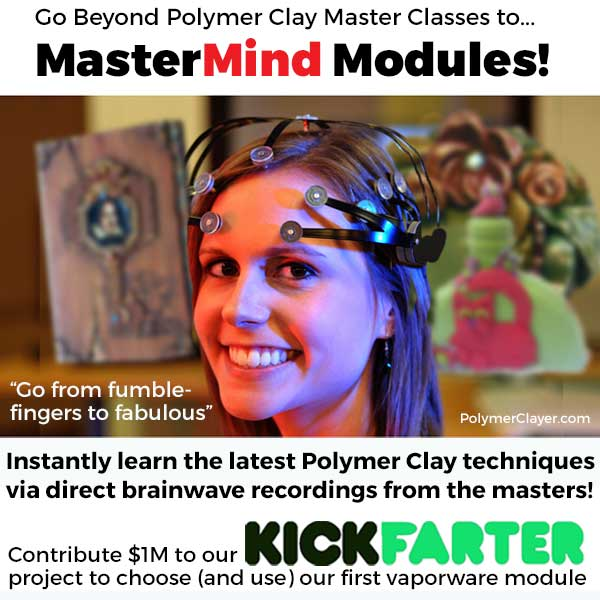Polymer clay classes reimagined!