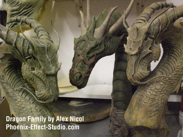 Dragon Family by Alex Nicol. Incredible example of detailed work possible with this clay. Click the photo for more!