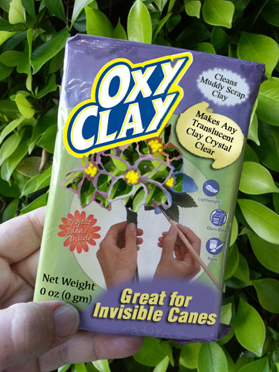 OxyClay - Super translucent polymer clay - parody